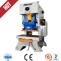 High Speed Pneumatic Boxing Power Press JH21 25tons Automatic Steel Hole Punching Machine