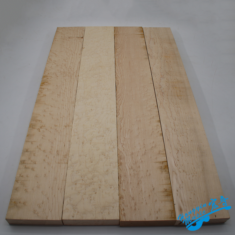 3A Grade Birdseye Maple Wood For Electric Guitar Neck Acoustic Guitar Neck Wood DIY Handmade Guitar Accessories 700*90*25mm two way regulating lever acoustic classical electric guitar neck truss rod adjustment core guitar parts