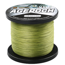 Top Quality 8 Strands 1000M Multifilament PE Braided Fishing Line Fishing Wire Braided Fishing Line 6-300LB for Sea Fishing