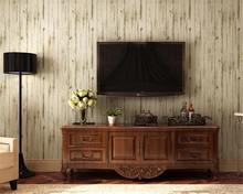beibehang  The American style is made up of old character wood and wall wallpaper papel de parede paper