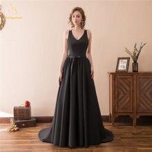 Черное платье bealegantom длинное вечернее большого размера
