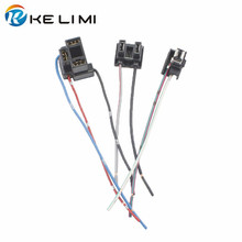 KELIMI H1 H4 H7 гнездовой разъем гнезда адаптеров, свиной хвост, разъем для H1 H4 H7 галогеновая hid светодиодная модернизация