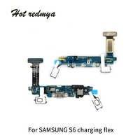 Conector de puerto de carga Cable flexible partes de reemplazo para Samsung Galaxy S6 S6 borde S6 Edge plus G920f G935f G928Fmuelle de carga