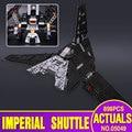 Лепин 05049 Подлинной НОВЫЙ Звездные Войны Серия Imperial Трансфер Образовательных Строительные Блоки Кирпичи Игрушки Совместим с 75156