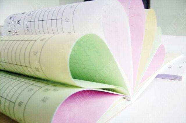 custom carbonless printed paper receipt book print customized
