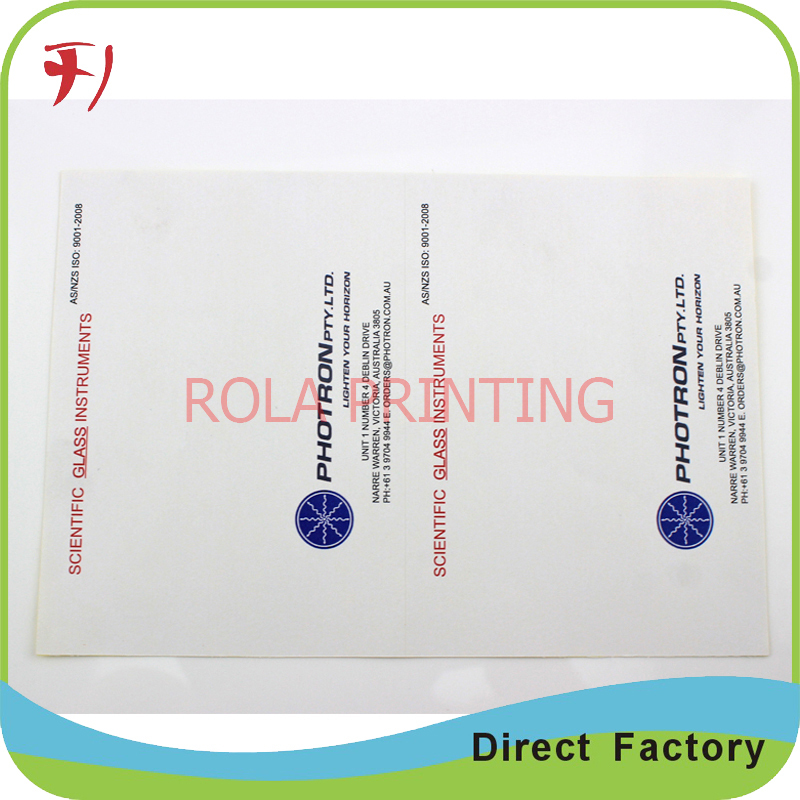 Custom paper services