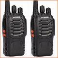2 шт./лот мини портативный радио двухстороннее Ручной Baofeng bf-888s с увч Передатчик вч cb радио handy talkie walkie baofeng 888 s