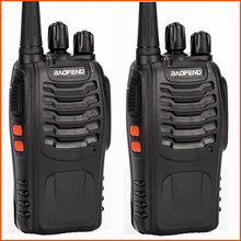 2 pièces/lot mini radio portable bidirectionnel poche Baofeng bf 888s avec émetteur uhf hf cb radio pratique talkie walkie baofeng 888s