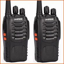 2 sztuk/partia mini przenośne radio dwukierunkowy ręczny Baofeng bf 888s z nadajnikiem uhf hf cb radio handy talkie walkie baofeng 888s