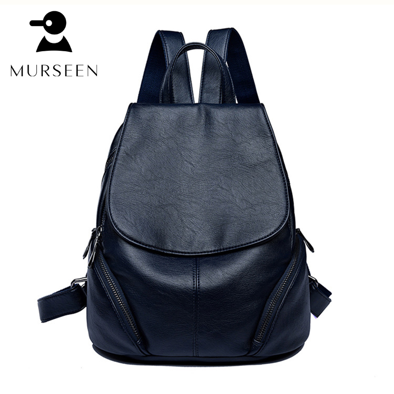 Women Fashion Backpacks Solid PU Leather Bags Leisure Travel Backpack Vintage Teenage Girls Casual School Shoulder Bag Black H-S 2016 newest wave fashion backpack women casual dackpacks backpack school leisure travel school bags women s shoulder bags bolsos