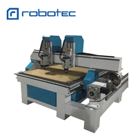 Dual heads 1530 2030 Stone CNC Router for stone marble granite