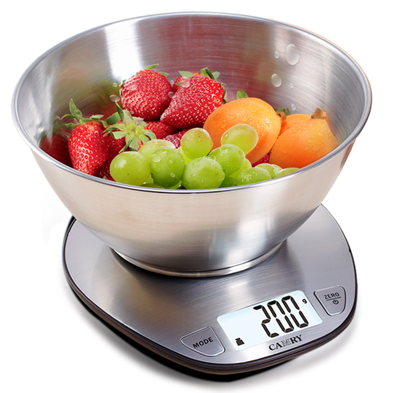 CAMRY Kitchen Scales Weighing Baking Tool Electronic Scales Accurate Food Electronic Scales  0.1g Household Platform Scales 0 001g electronic jewelry milligram scales 30g 0 001 digital pocket kitchen food baking scale medical bench weighing balance