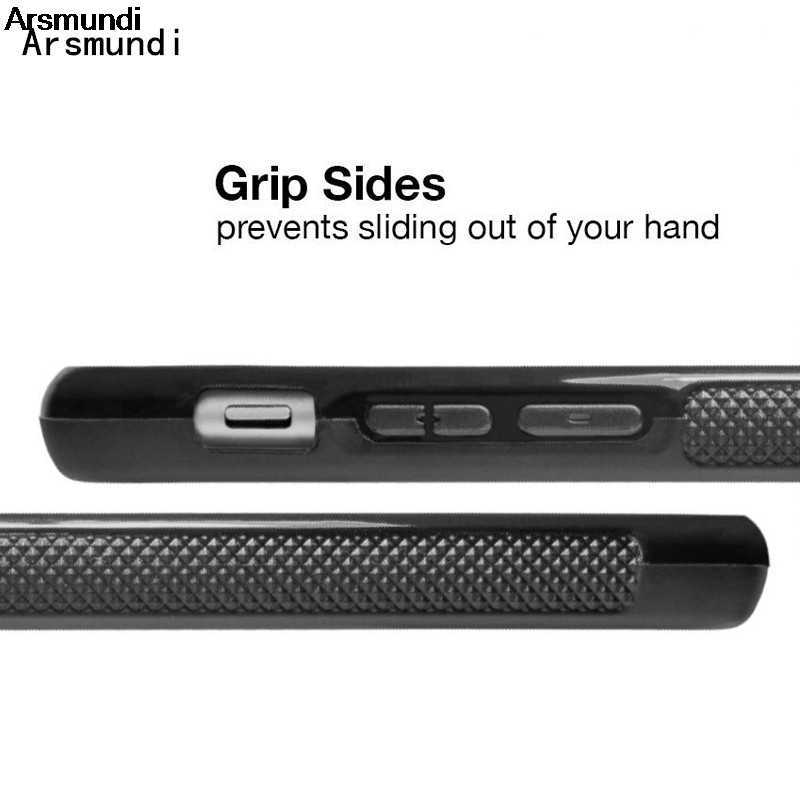 Arsmundi chico hello kitty teléfono batman casos para iPhone 4S 5C 5S 6S 6 7 8 Plus X para Samsung S9 caso Goma de TPU suave de silicona