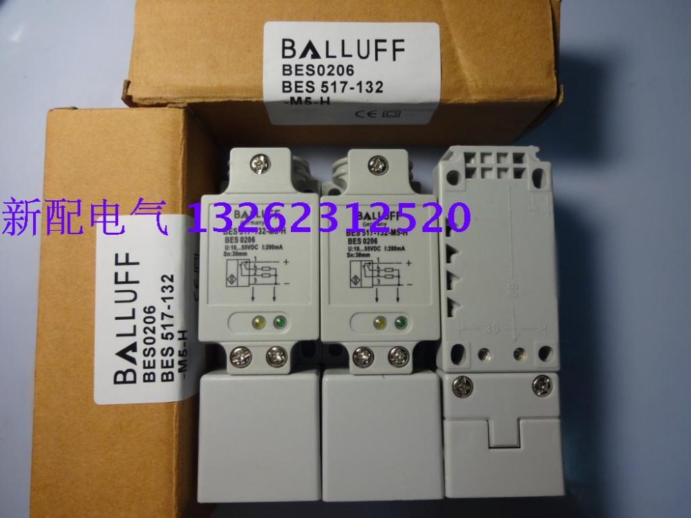 BES 517-132-M5-H New High-Quality Balluff Proximity Switch Sensor Warranty For One Year balluff proximity switch sensor bes 516 383 eo c pu 05 new high quality one year warranty