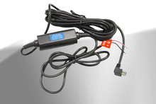 Rexing Hard Wire Kit per Videocamera per auto, Automobile DVR, Dash Cam, 12 V a 5 V Mini USB Porta di Uscita 2A per Cruscotto Dashcam Registratore di Guida