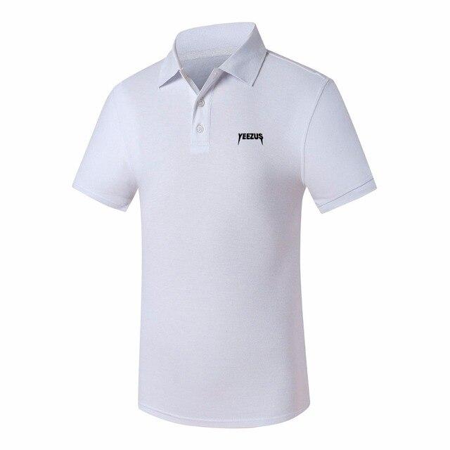 Camisa Polo Masculino Summer Polo Shirt Brand For Mens Polo Women men's polo shirt Cotton Yeezus Printed Clothing Short Sleeve
