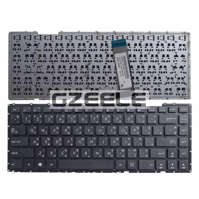 Ar nuevo teclado para ASUS X451C X452 F401E V451 A450LC R409E X451E X451M 1007CA X452 F401E V451 A450LC R409E teclado del ordenador portátil