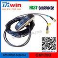 GPS GSM Combinado de La Antena-GM120B, (2 unids/lote), Tipo de tornillo, Antena GPS de Navegación, Conector SMA (MMCX/BNC/Fakra), 3 m cable