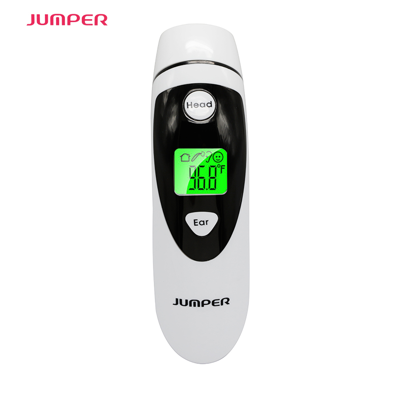 LCD Digital Infrared Thermometer Non-contact Ear & Forehead Baby Adult Body Temperature Monitor CE FDA Approved Alarm Function cofoe thermometer body temperature fever measurement forehead non contact infrared lcd ir digital tool device for baby child