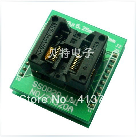 Ucos private SOIC28 programming block transfer ZY320A burning test socket adapter