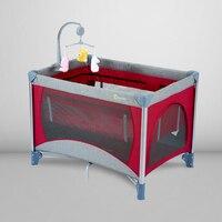 Babyfond кровать для игр Многофункциональный складной новорожденных кровать Портативный кроватки для новорожденных малышей в европейском сти