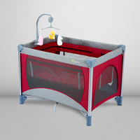 Babyfond Game Bed Multifunctional Folding newborns Bed Portable Bb Beds European Baby Bed Child Cradle