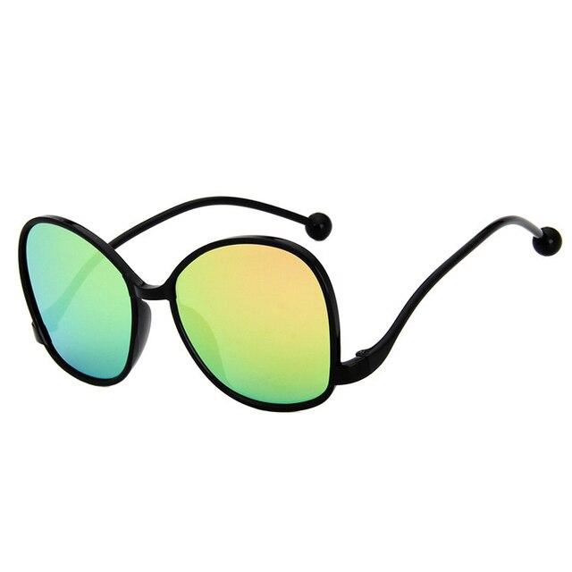 5d4d4489535 Women Retro Colorful Sunglasses PC Frame All-Match New Korean Fashion Trend  Resin Lens UV400 Eyeglasses 017