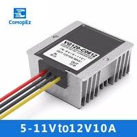 5 11V to 12V 10A DC DC Converter Step Up Module Power Supply Boost Module 6V to 12V DC Power Supply Converter for Car