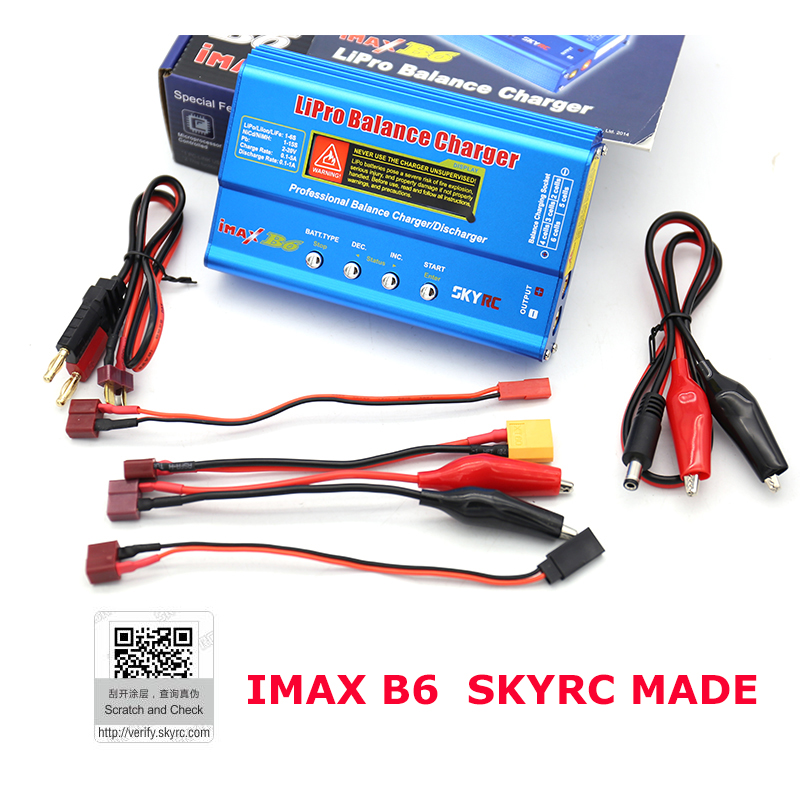 Original SKYRC iMAX B6 Battery Charger Lipo Balance Charger Discharger For RC Helicopter Car Toys Quadcopter Battery цена