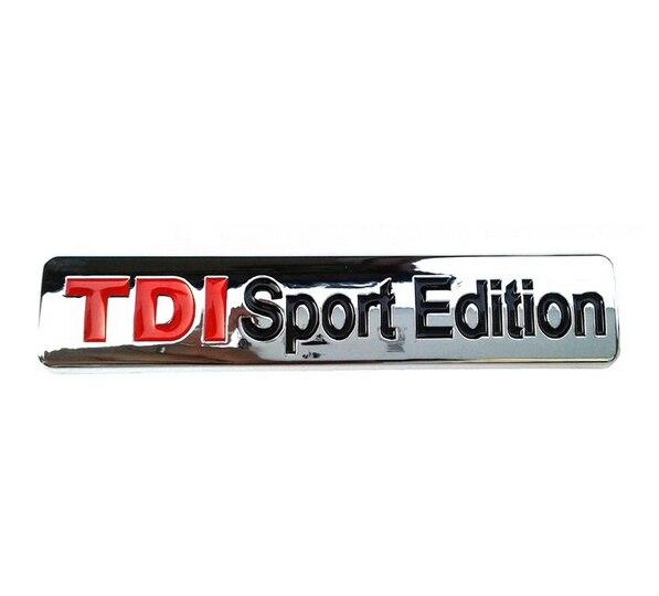 NOVA Edição Esporte TDI Emblema Do Emblema da Etiqueta Do Logotipo-15 pcs