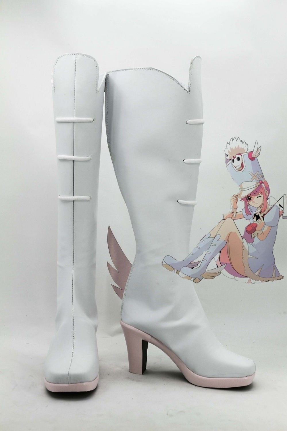 Kill la Kill Nonon Jakuzure Cosplay Shoes Boots Customized Sizes