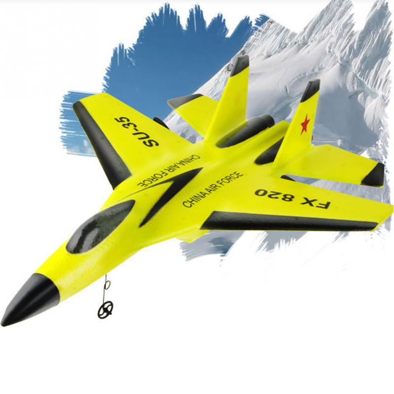 Cool RC Fight Fixed Wing RC Airplane FX-820 2.4G Remote Control Aircraft RC plane pt 17 trainer remote control aircraft aeromodelling 4 ch 2 4ghz stearman pt 17 rc bi plane airplane pnp and kit
