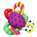 Baby Toys  colorful ball hand ring dot ball toy teethers rattles ring baby educational kids toys