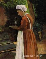 art landscape The Maidservant Camille Pissarro paintings on canvas High quality Hand painted
