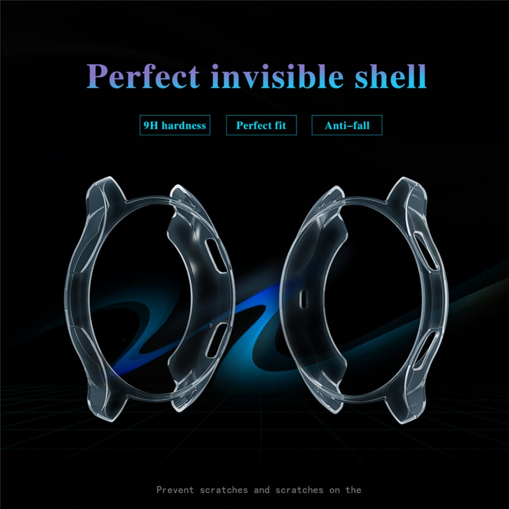Image 5 - Case Shell for Samsung Galaxy Watch 42MM SM R810 46MM Gear S3 Frontier TPU Protector Frame Smartwatch Cover Protective Shell-in Smart Accessories from Consumer Electronics