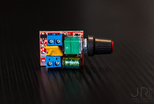 2Pcs Mini DC Motor Wide Voltage PWM Speed Controller DC3V 6V 12V 24V 35V 90W 5A LED Dimmer for Strip Light Panel