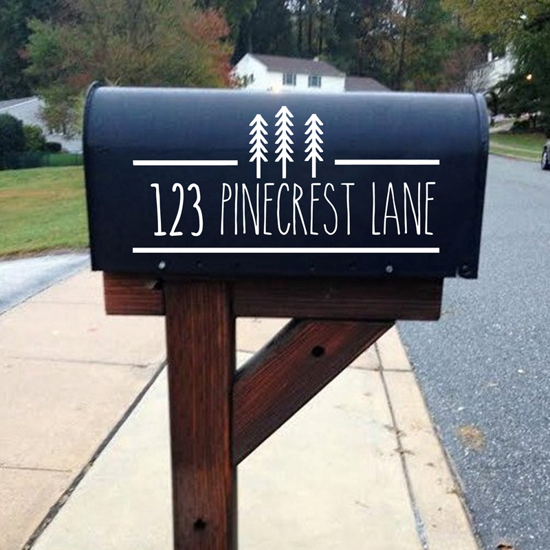 aliexpress com   buy personalized farmhouse mailbox number