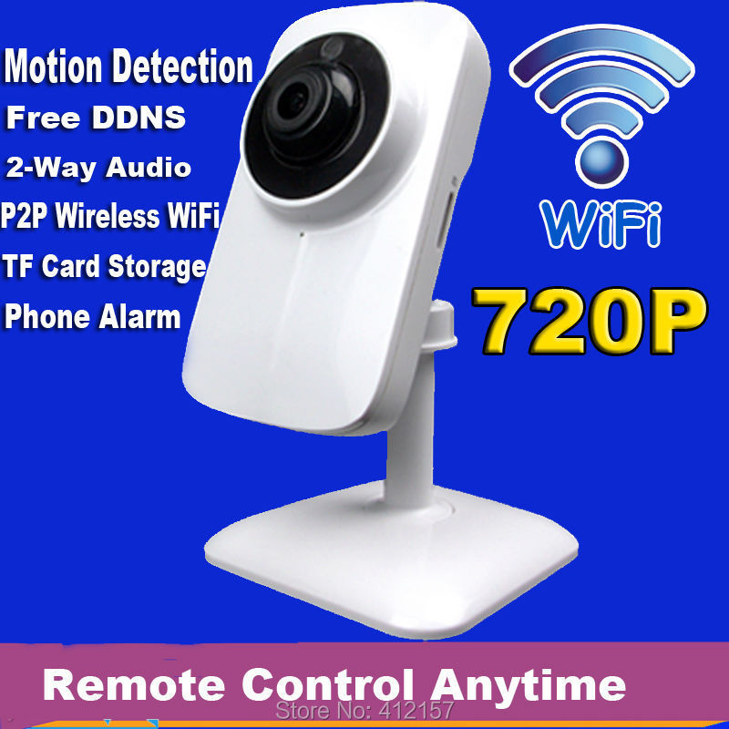 CCTV Security Home Wireless WIFI P2P Audio Intercom 720P HD IP Network Camera Bay Family Monitor Motion Detection Alarm TF Card sricam sp009c 720p hd motion detection wireless home security camera