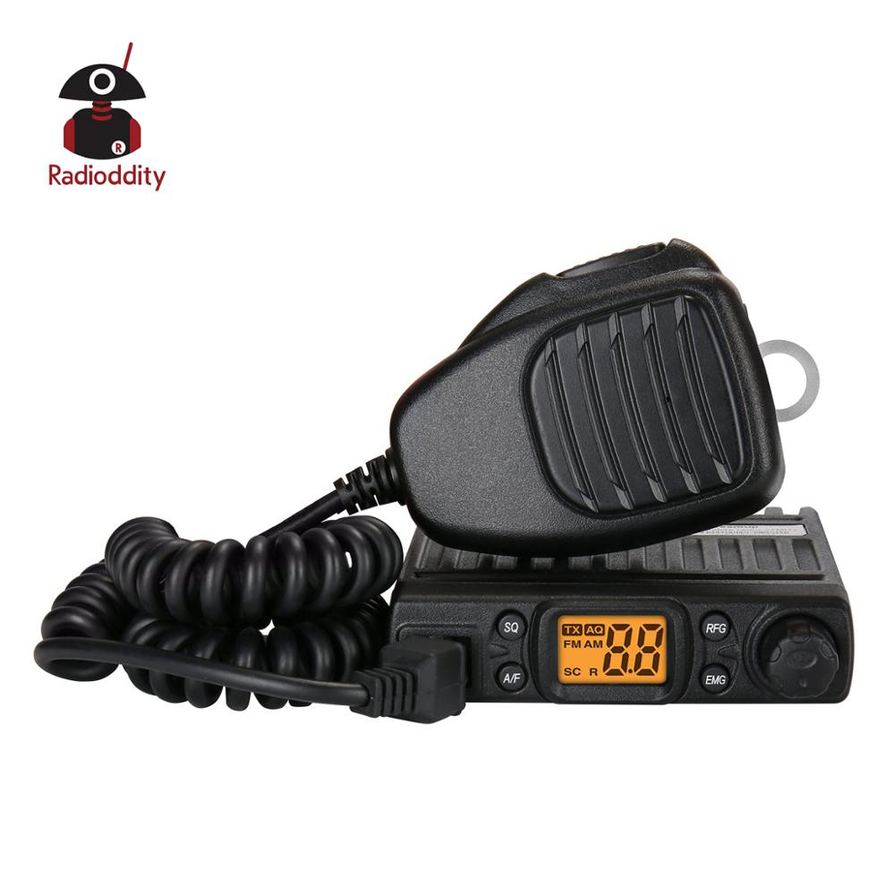 Radioddity CB-27 CB Radio License-free With Microphone 40-Channel AM PA System RF Gain Mobile Instant Emergency Channel 9/19