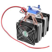 1 PC Thermoelectric Cooler Semiconductor Refrigeration Peltier Air Cooling Radiator Water Chiller System Device
