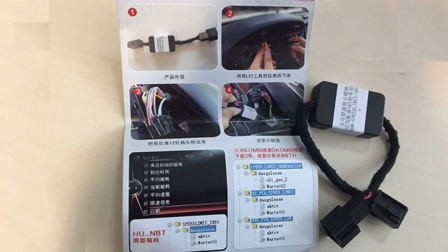 for BMW F3 F5 F7 X5 x6 Series Speed Limit Information Emulator SLI Emulator BMW F