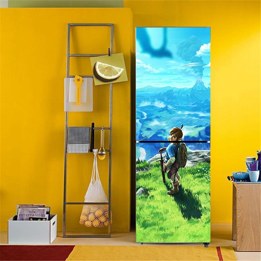 video game zelda game art decor adhesive pvc removable