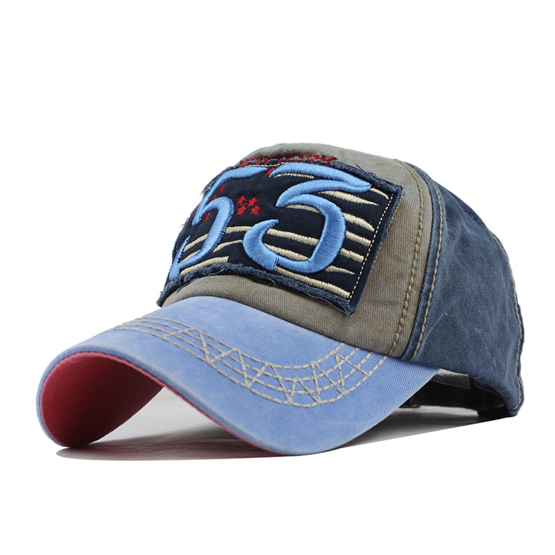 [FLB] Yeni Pamuk Beyzbol Şapkası Koşu Monte Mektubu Spnapback Yaz - Elbise aksesuarları - Fotoğraf 3