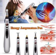 Electronic Acupuncture Pen Electric Massage Pen Meridians Laser Acupuncture Machine Magnet Therapy Meridian Energy Pen Face Lift