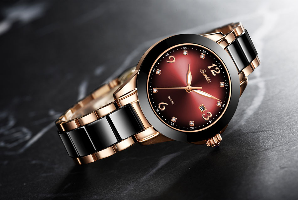 dwaterproof água topo marca de luxo relógio