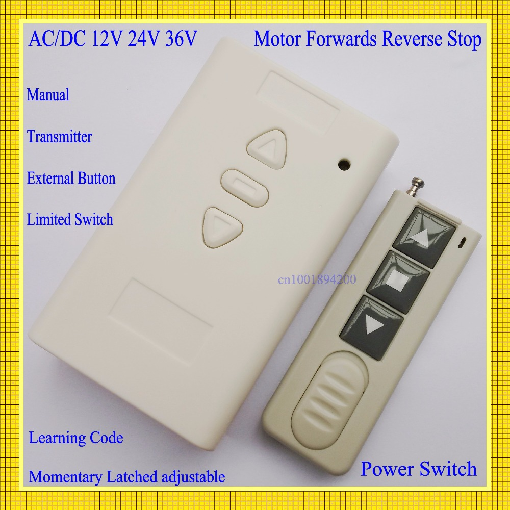 Push Button And The Forward Motor Starter Reverse Controller Dc12v Dc24v Dc36v Remote Control Dc Manual Wire Limited Switch