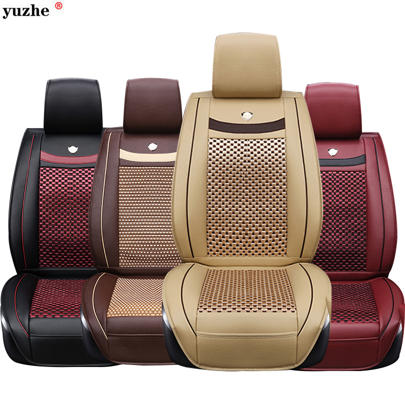 купить Universal Car seat covers For Skoda Octavia 2 a7 a5 Fabia Superb Rapid Yeti Spaceback Joyste car accessories styling cushion по цене 6663.08 рублей