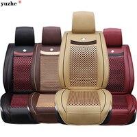 Universal Car seat covers For Skoda Octavia 2 a7 a5 Fabia Superb Rapid Yeti Spaceback Joyste car accessories styling cushion