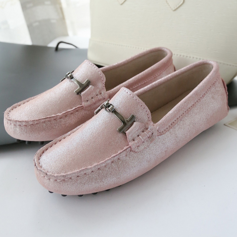 ФОТО 2017 Fashion Design Women Shoes Soft Moccasins Loafers 100% Genuine Leather Women Flat Shoes Casual Flats Lady Driving Shoes