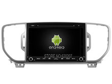 Android 5.1 CAR Audio DVD player gps FOR KIA SPORTAGE 2016 Multimedia navigation head device unit receiver